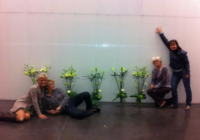offrir un cours d'art floral